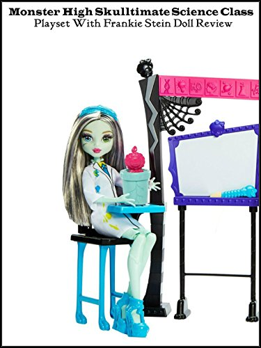 Review: Monster High Skulltimate Science Class Playset with Frankie Stein Doll Review