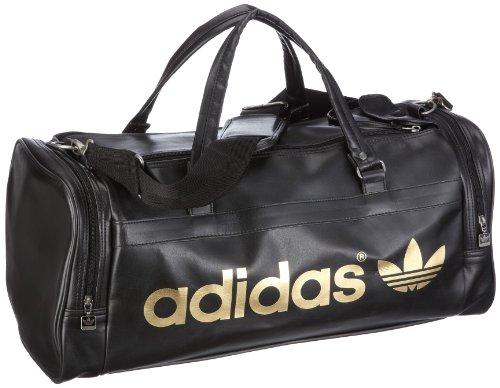 8f18eb3d28 adidas Originals Ac Teambag, Sac de sport/voyage - Noir, Cuir: Amazon.fr:  Chaussures et Sacs