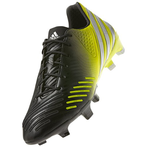 Adidas Predator LZ TRX Firm Ground Cleats [BLACK1/METSILVER/LABLIME] (7) clearance lowest price fashionable cheap online discount enjoy best for sale from china J8rvq7d
