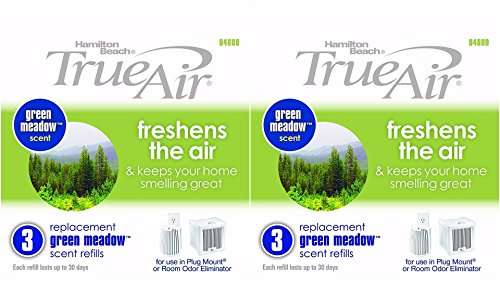 Hamilton Beach Replacement Green Meadow Scent Refills for...