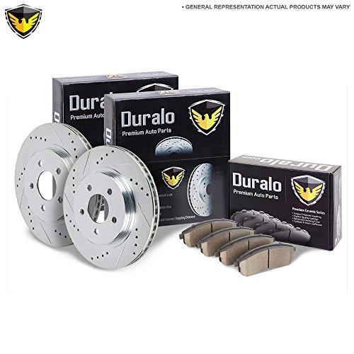 New Duralo Front Brake Pad Rotor Kit For Mazda & Mazdaspeed 3 2.3L 2007-2013 - Duralo 153-1946 New (Brake Mazdaspeed 2011 3)