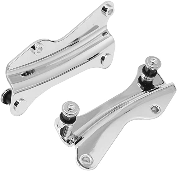 H-Ruo Chrome 4 Point Docking Hardware Kit for Harley Touring Road King Street Glide 2014-2019