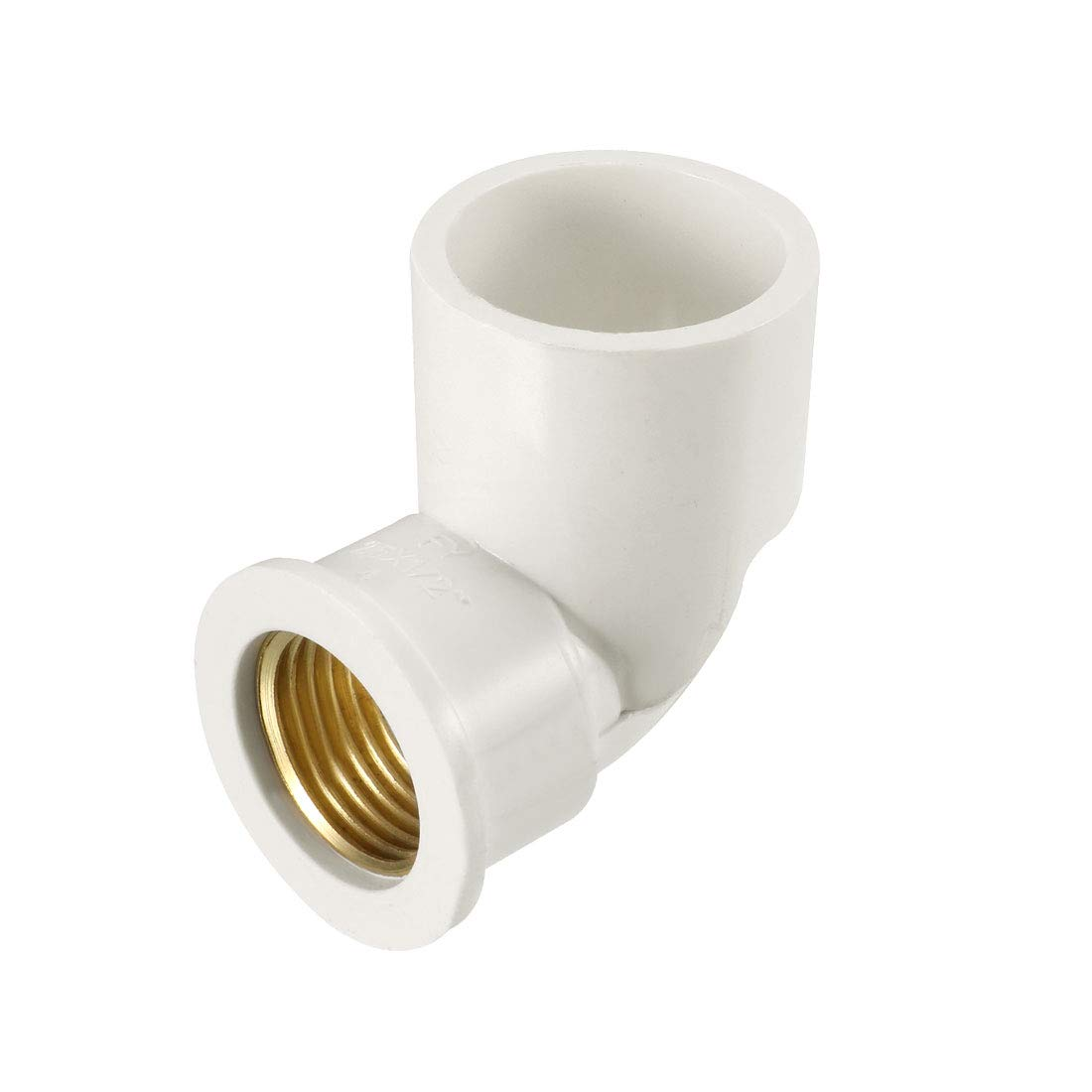 uxcell 32mm Slip x 3//4PT Female Thread 90 Degree PVC Pipe Fitting Elbow 3 Pcs