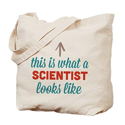 CafePress–Científico Looks like–Gamuza de bolsa de lona bolsa, bolsa de la compra