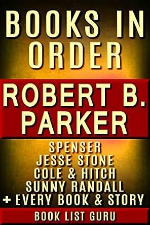 Robert parker books in chronological order