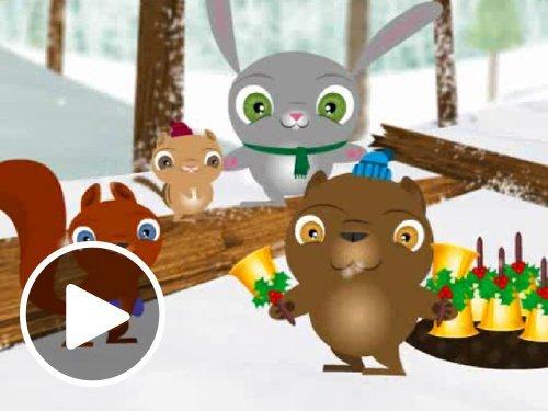 Animated Woodland Christmas eGift Card