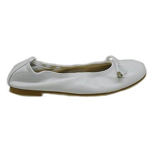 Zapatos esY 5028 Comunión Clarys Blanco Niña 38Amazon 8n0Nmwv