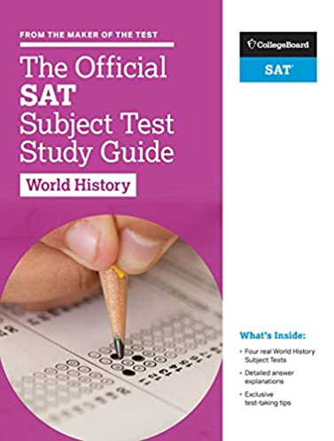 amazon com the official sat subject test in world history study rh amazon com study guide maker online study guide maker for teachers