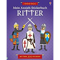 Mein Anzieh-Stickerbuch: Ritter