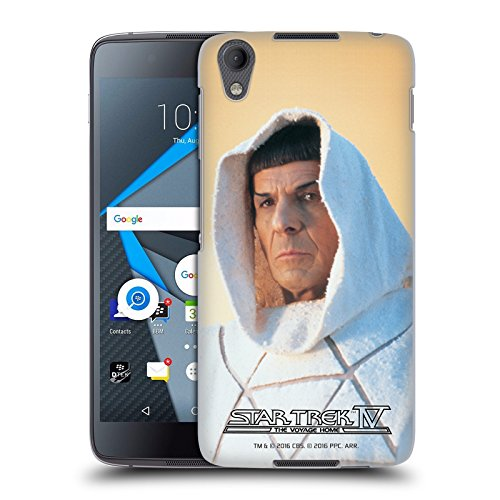 Official Star Trek Vulcan Robe Hood Spock The Voyage Home Tos Hard Back Case For Blackberry Dtek50   Neon