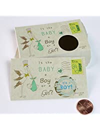 Stork Gender Reveal Scratch off Cards, Reveal The Sex of your Baby, Boy or Girl