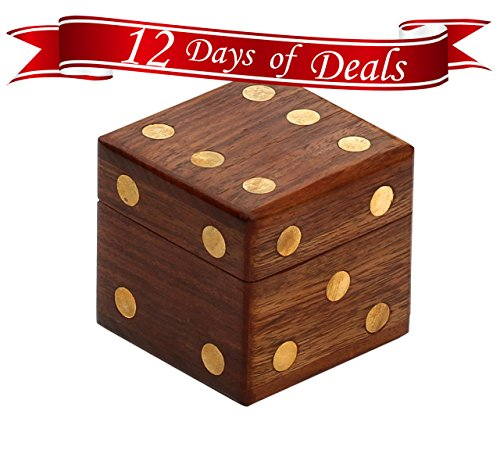 12-DAYS-of-DEALS-SALE-on-SouvNear-24-1-Wooden-Square-Dice-Box-Storage-Case-Container-with-5-Dice-Cute-Dice-Game-Set-Christmas-Holiday-Presents