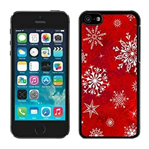 MMZ DIY PHONE CASECustomized Design iphone 6 4.7 inch TPU Case Christmas Snowflake Black iphone 6 4.7 inch Case 12
