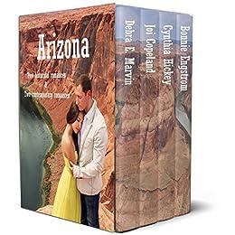 Arizona: 2 contemporary romance novellas and 2 historical romance novellas by [Marvin, Debra E., Copeland, Joi, Hickey, Cynthia, Engstrom, Bonnie]