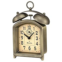 Bulova B8128 Holgate Alarm Collection Clock