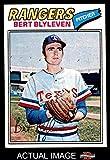 1977 Topps # 630 Bert Blyleven Texas Rangers (Baseball Card) Dean's Cards 6 - EX/MT Rangers