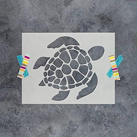 Amazon Turtle Stencil Template