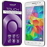 Fosmon Tempered Glass for Samsung Galaxy Grand Prime [1 pack] TOUCH 0.20mm [ULTRA THIN | Shatter Proof | Oleophobic Coating] HD Clear Glass Screen Protector for Galaxy Grand Prime
