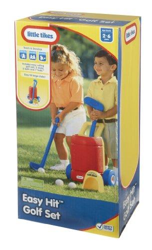 51ukw7pwXlL - Little Tikes Totsports Easy Hit Golf Set