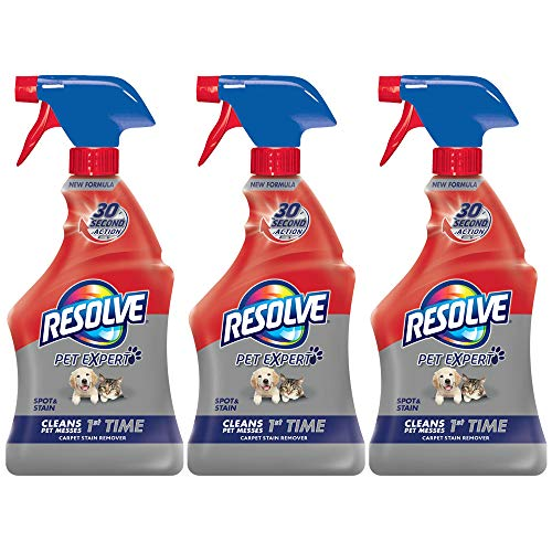 Resolve Pet Stain Remover Carpet Cleaner