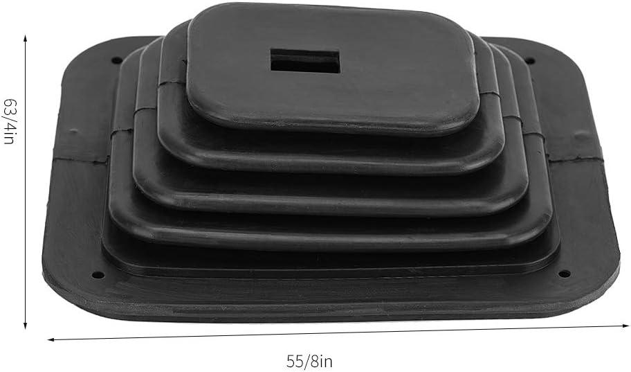 Dibiao Schalthebelmanschettenabdeckung gm350 Gummi-Auto-Schalthebelmanschetten-Staubschutz-Schalthebelmanschette