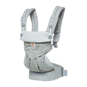 Ergobaby - Mochila portabebé 360, Color Gris perla: Amazon ...