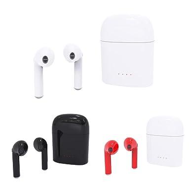 hbq i7 Gemelos Mini inalámbrico Bluetooth auriculares estéreo con micrófono + Base de carga