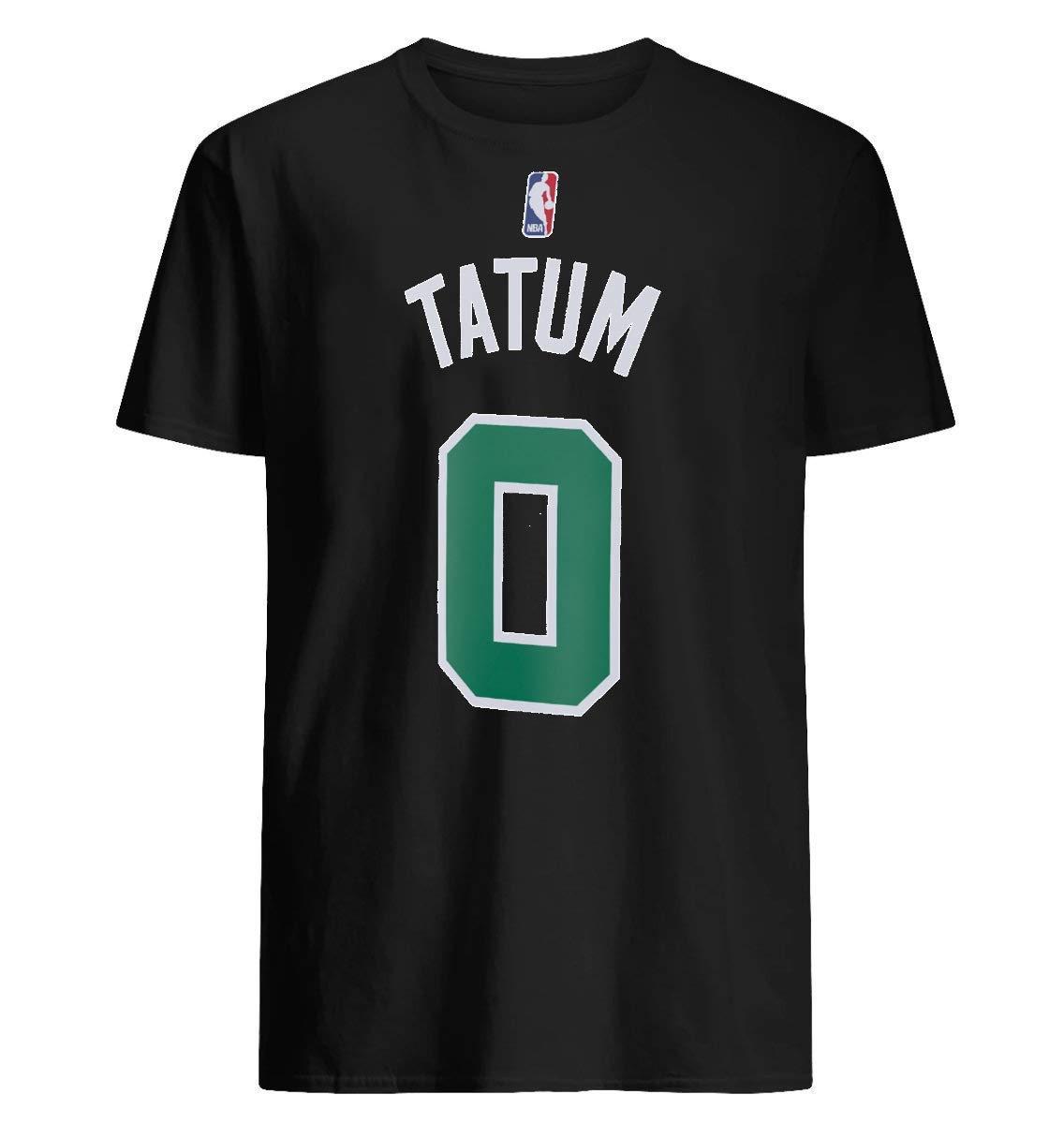newest 30766 4acf4 Amazon.com: Jayson tatum jersey High quality men_s T-shirts ...