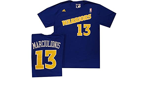 Amazon.com : Golden State Warriors Sarunas Marciulionis Throwback Adidas 1992 Shirt : Sports & Outdoors