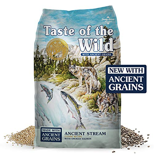 Taste of the Wild Ancient Stream Canine Recipe with Smoked Salmon & Ancient Grains 28lb