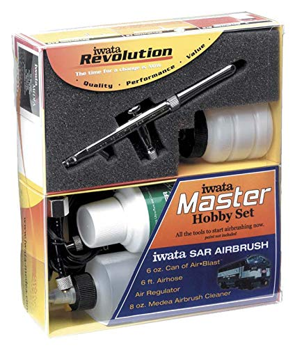Iwata-Medea Revolution SAR Master Hobby Set