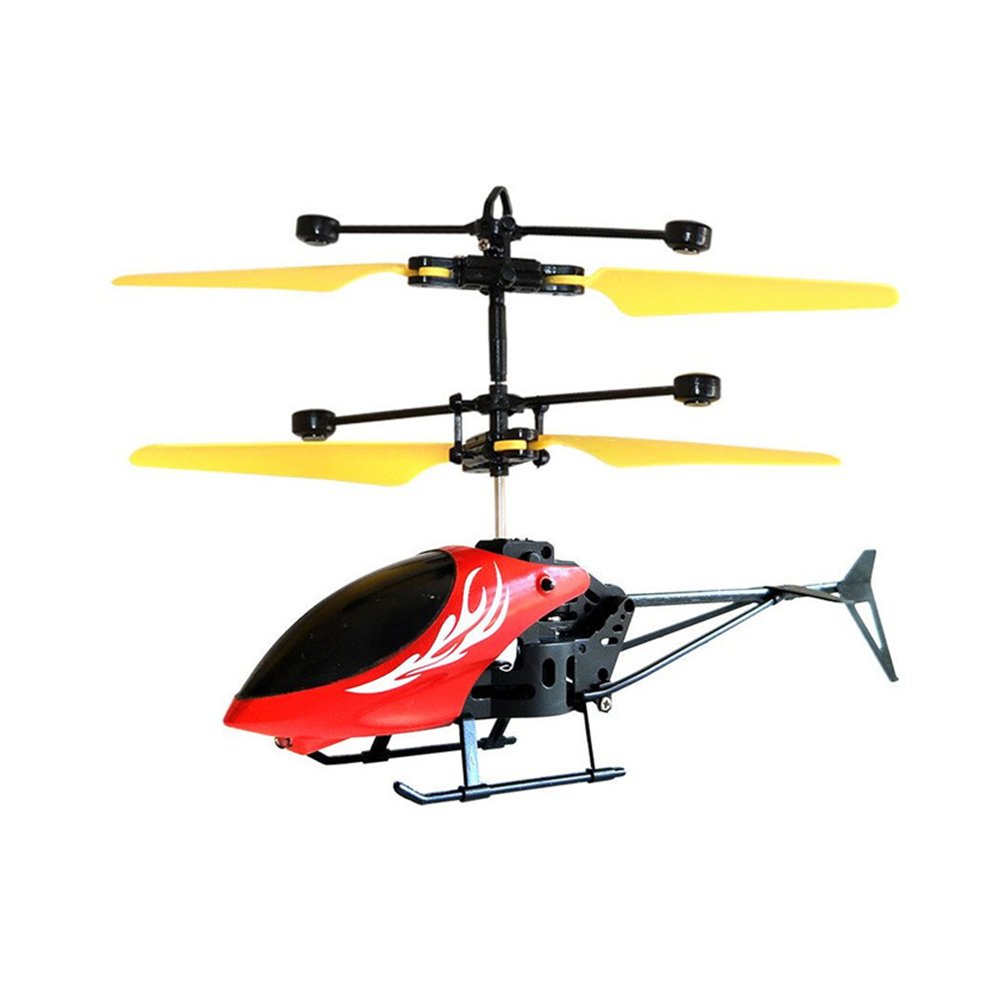 Alftek Kids Toys Mini Helicopter Induction Drone Flash Light Induction Aircraft Gift