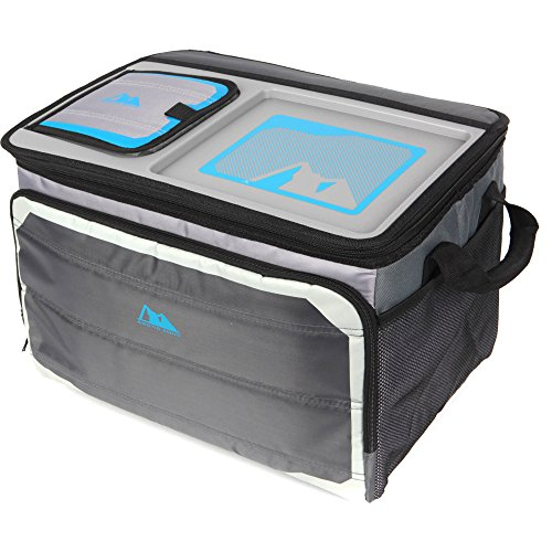 Arctic Zone 50-Can Collapsible Tabletop Cooler, (Arctic Outdoor Tabletop)