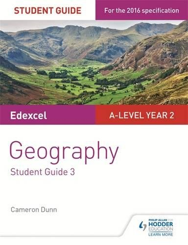 D0wnl0ad Edexcel A-level Year 2 Geography Student Guide 3: The Water Cycle and Water Insecurity; The Carbon C D.O.C