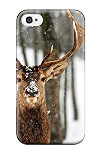 9976309K13938199 TashaEliseSawyer Design High Quality Deer Cover Case With Excellent Style For Iphone 4/4s