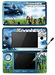 Xenoblade Chronicles 3D Game Skin for Nintendo 3DS Console