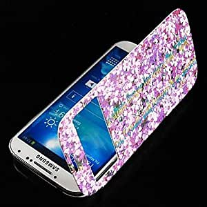DUR Engish Letter Style Leather Full Body Case for Samsung Galaxy S4 I9500