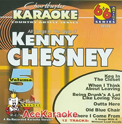 Chartbuster Karaoke 6X6 CDG CB20570 - Kenny Chesney Vol  5
