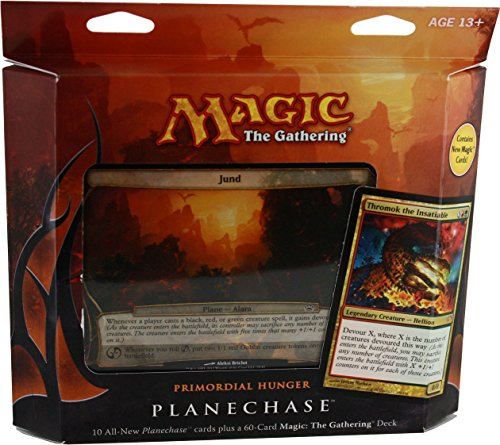 Deck Planechase - GTS Distribution   Magic the Gathering- MTG: Planechase (2012 Edition) Primordial Hunger - Game Pack