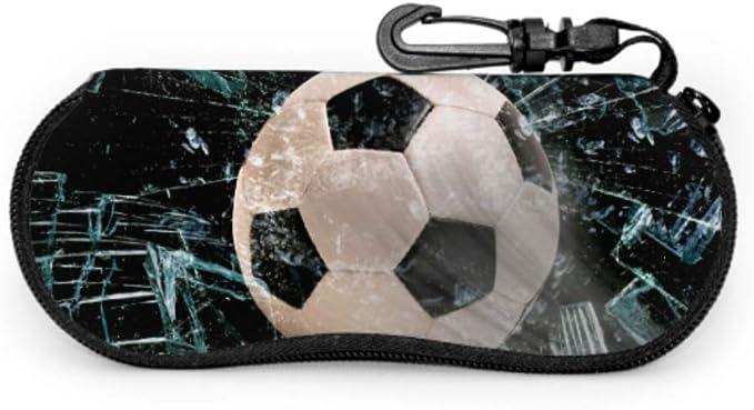 WDDHOME Balón de fútbol rápido a través de vidrio roto Caja de ...