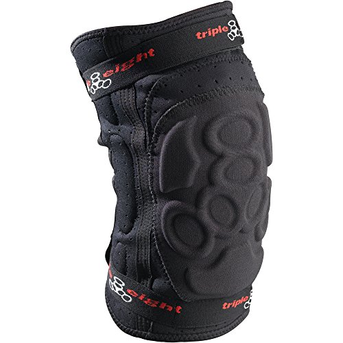 Triple Eight ExoSkin Knee Pads Black M & Performance Headband Bundle