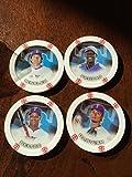 2014 Topps Chipz Texas Rangers Team Set 4 Poker Chips