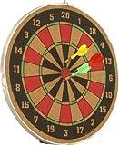 Wood O Plast 12-inch Dart Board Set, Multi Color