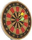 Wood O Plast 16-inch Dart Board Set, Multi Color