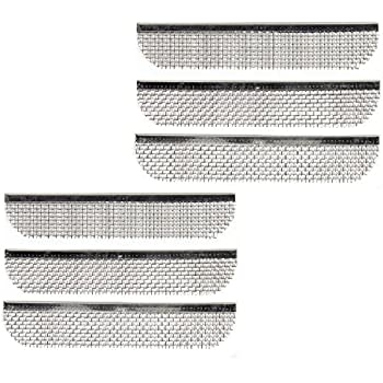Amazon Com Aleko Rvs009 Stainless Steel Rv Vent Screen