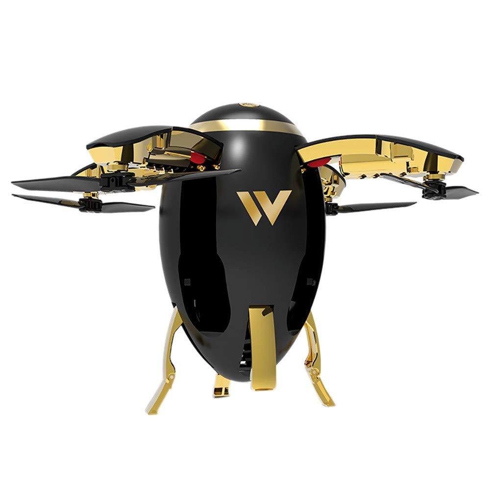Drone Yesmile Rugby Drone per Bambini Adatto per Principianti Funzione di Sospensione Altitudine Headless Mode720P HD Telecamera 3D Flip Luce a LED