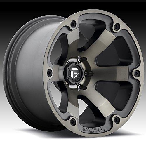 Fuel Offroad D564 Beast 18x9 6x139.7 +1mm Black/Machined Wheel Rim