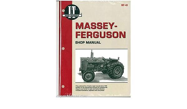MF 43 Massey Ferguson MF255 MF265 MF270 MF275 MF290 Tractor