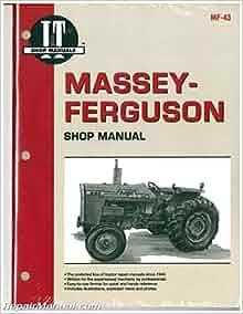mf 43 massey ferguson mf255 mf265 mf270 mf275 mf290 tractor manual manufacturer books