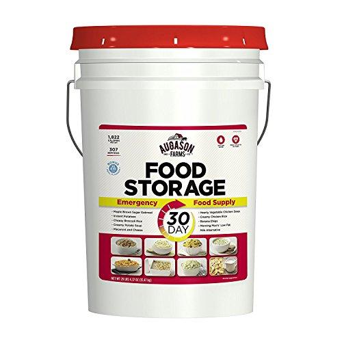 Augason Farms 30-Day Emergency Food Storage Supply 29 lb 4.37 oz 7 Gallon Pail (.1 PAIL)